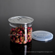 Pet Zip-Top pode para o chá da flor de Rosa (PPC-CSRN-045)