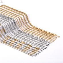 Moda de alta qualidade Jean jóias em aço inoxidável correntes de ouro