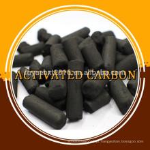 Carvão ativado em coluna com base de carvão para sistema de filtração