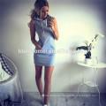 Wish hot sell sleeveless hooded dress women casual