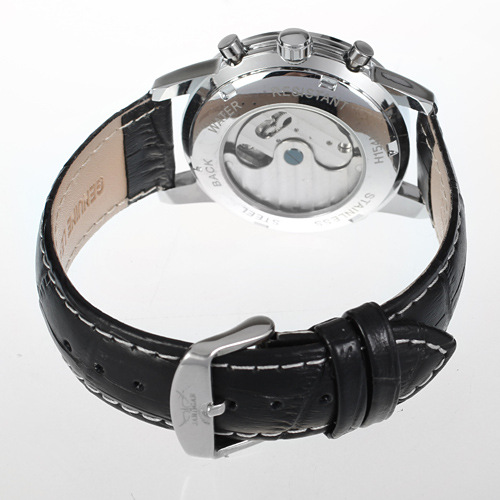 Wholesale Sport Stainless Steel Back Wrist Watch