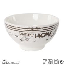 13.5cm Céramique Nouvelle Bone China Bowl Haute Qualité