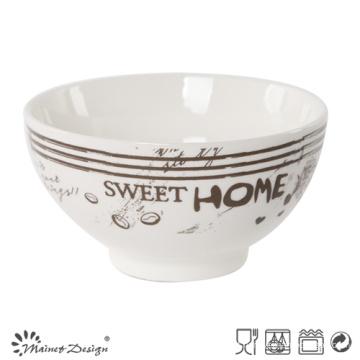 13.5 cm de Cerâmica New Bone China Bowl de Alta Qualidade