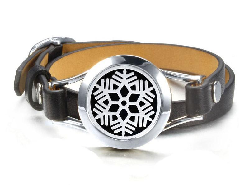 leather diffuser bracelet