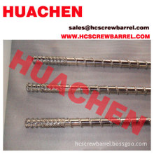 Screw Barrel For Extruder Machine Processing Pe Pipe
