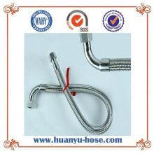 Tubo metálico de aço inoxidável com junta de flexão flexível