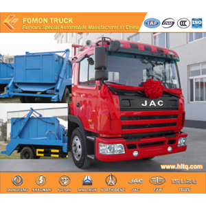 JAC 4x2 10 M3 trash collecting truck