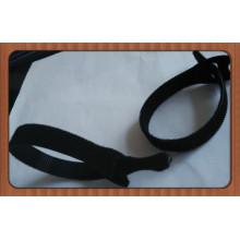 Hook & Loop Kabelbinder mit Label Einstellbare Kabelbinder