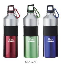 Botella de aluminio con lazo (A16-750), 750ml