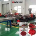 Export to Japan ABS with flame-retardants plastic extruder machine