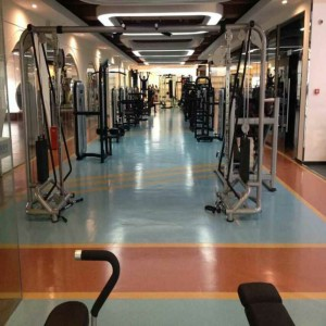 PVC spor salonu ve fitness salonu