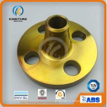 Стандарт ANSI DIN с шеи стальной заварки углерода Выковала Фланец (KT0256)