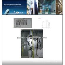 Aufzugstürmesser, Aufzugstürflügel, Aufzugstür