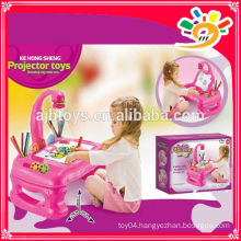 2014 HOT SELLING PRODUCTS! PROJECTION DESK KE HONG SHENG 5555 projector toys painting best gift for kids