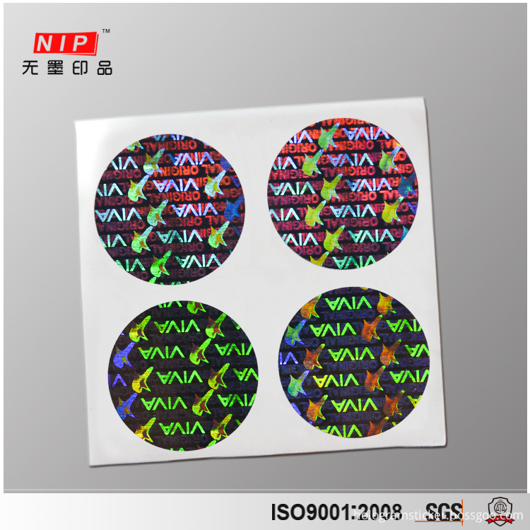 Tamper Proof Hologram Stickers