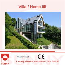Conduite variable de fréquence de Vvvf, course tranquille et ascenseur précis de mise à niveau de maison