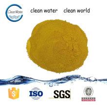 dissolvant chimique de couleur de l'eau pakistan poly chlorure d'aluminium