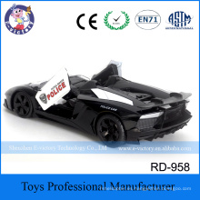 Newest Emulational 1:12 Scale Kids 4 Channel Racing Radio Control Police Car
