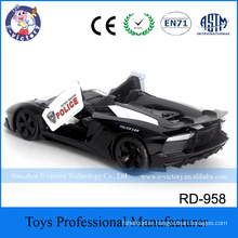 Hot Selling Toys Model Kid Police Cars toy 1:12 4CH RC Racing Car