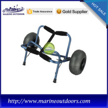 Supply for Kayak Trolley PVC balloon wheels surfboard trolley cart with rubber pad supply to Cambodia Importers