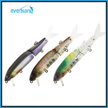 Articulado Walking Dog Suspender Minow Pesca Lure Hard Lure