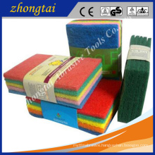 abrasive scouring pad for metal grinding polishing , daily washing