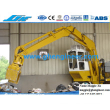 Machine fixe d'enlèvement des ordures électriques
