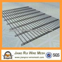 PVC-beschichteter Gartenzaun / doppelter Drahtgewebe / geschweißter Drahtgewebe (Hersteller)