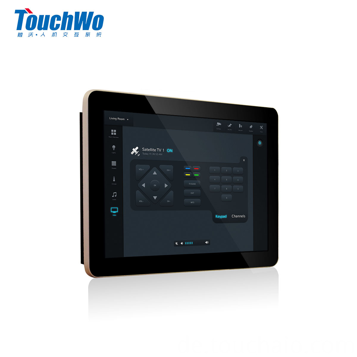 11.6 inch touch all in one pc