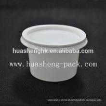 China Fábrica de Grau Alimentício 130 ml / 4 oz descartável PP plástico pipoca de milho