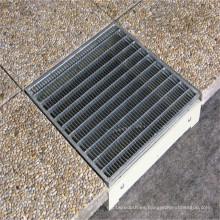 Reja de acero galvanizado de DIP caliente para la cubierta de zanja