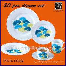 20pcs High grade everyday dinnerware sets
