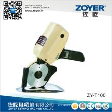ZY-T100 Zoyer Eastman Km Small Round Knife Cutting Machine