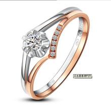 Мода Специальный Уникальный Дизайн Синтетических Алмазов Кольцо Ювелирные Изделия