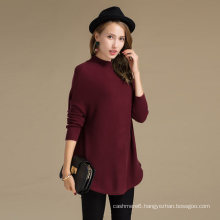 Cost-Effective 30%Cashmere70%Merino Wool Crew Neck Cashmere wool Sweater