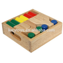 high quality wooden child building blocks toy