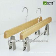 promoção calça saia faia cabides de madeira
