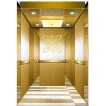 Ascenseur d'ascenseur de passager de haute qualité miroir gravé Aksen Ty-K152
