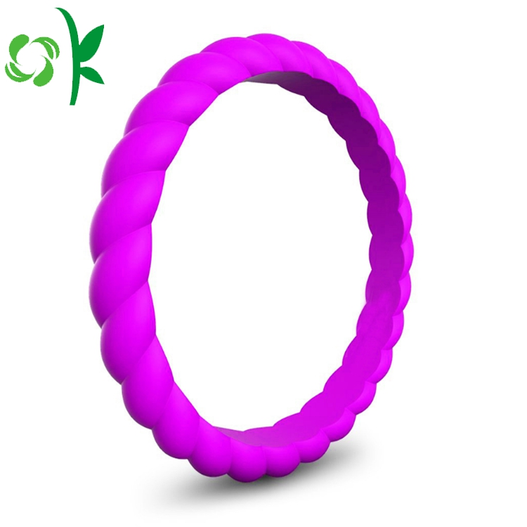 Purple Silicone Ring