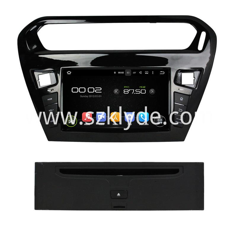 Peugeot 301 car stereo players