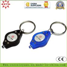 Personalizado LED ABS plástico chaveiro Atacado
