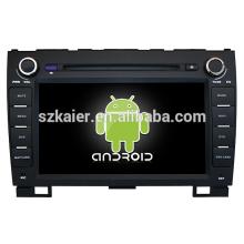 Quad core! Android 4.4 / 5.1 dvd de voiture pour GREAT WALL H5 avec écran capacitif 8inch / GPS / lien miroir / DVR / TPMS / OBD2 / WIFI / 4G