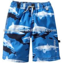 Pantalones cortos de la playa de los hombres de la moda de encargo, corto pantalón