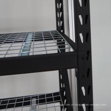 Rack de prateleiras industriais de aço resistente de 4 camadas