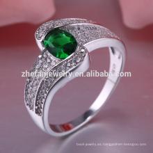 dubai anillo 92.5% contenido de plata joyeria show expositor joyas