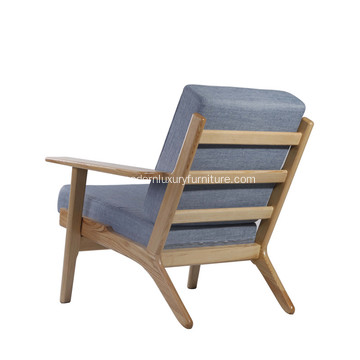 Kashmir Hans Wegner Plank Arm Chair Replica