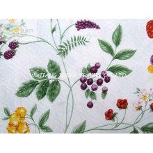 Bedruckte Wildleder Bonded Poly Baumwolle gemischt Stoff für Heimtextilien