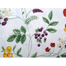 Printed Suede Bonded poly cotton blended Fabric for Hometextile