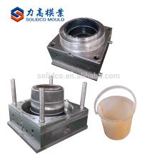 Molde plástico personalizado del cubo de agua de la buena calidad de la inyección