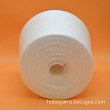 high quality bright 100 spun polyester colored yarn